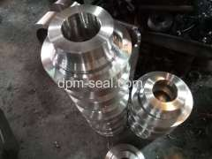 Forged material to make mechanical seal gland
