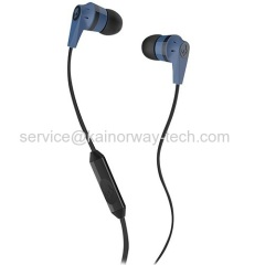 Wholesale SkullCandy In Ear Supreme Sound Bass Ink'd 2.0 Mic'd Ear Bud Earphone Headphones Blue Black