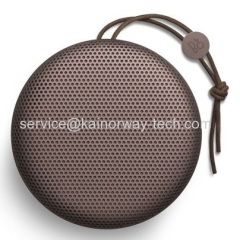New B&O Play BeoPlay A1 By Bang And Olufsen Ultra-Portable Bluetooth Speakers WIth Big Sound Deep Red
