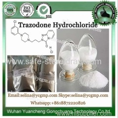 CAS 25332-39-2 Antidepressant Raw Powder Trazodone Hydrochloride