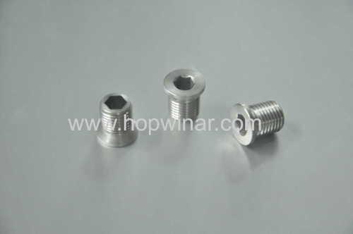 carbon steel oil plug
