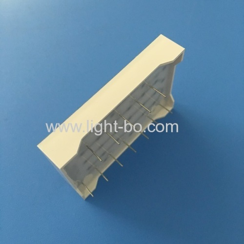 Ultra red 6mm 5*7 square dot matrix led display row anode column cathode for elevator position indicator