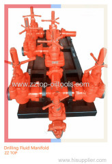"Wellhead Mud Manifold 4""x10000psi Drilling Fluid Manifold"
