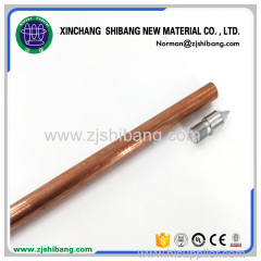 Stainless Steel Ground Rod Copper Clad