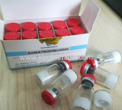 HGH injectable For bodybuilding fitness anti-aging 10iu/vial/ 10vials/kit