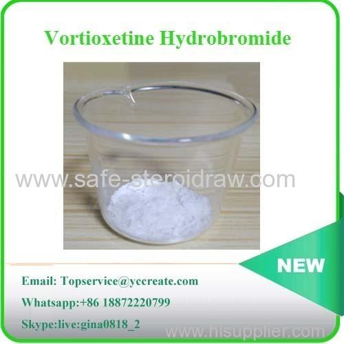 Vortioxetine Pharmaceutical Mdd Drug Raw Vortioxetine Hydrobromide