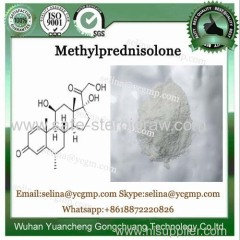Raw Glucocorticoid Hormone 6A-Methylprednisolone Powder CAS 83-43-2