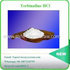 Antibacterial Agent Terbinafine HCl Terbinafine Hydrochloride raw powder