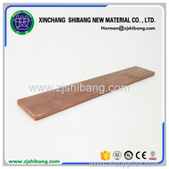 Flat copper lightning conductor tape Supplier