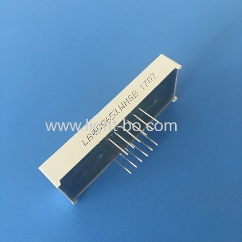 Common anode 4 digit 0.56  Ultra Bright white 7 Segment clock Display for industrial timer