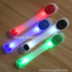 Reflective Safety Belt Arm Strap Night Cycling Running LED Armband Light Farol Bike Luces Bicicleta Bicycle Light