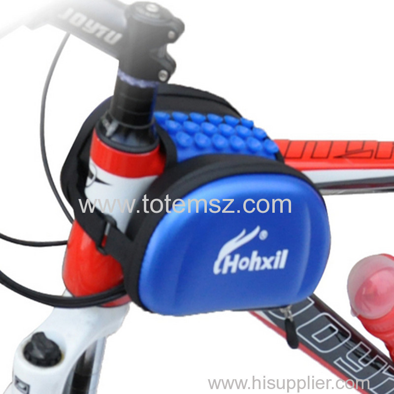 Waterproof Bicycle Top Tube Front Frame Bags Mountain Double Side bags cycling pouch Sucker Design For Mobile Phone
