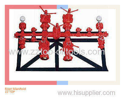 Oilfield well control Drilling fluid Riser Manifold