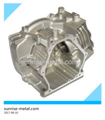 aluminum die casting for engine housing
