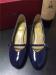 Mulheres chunky heel single strap dress shoes