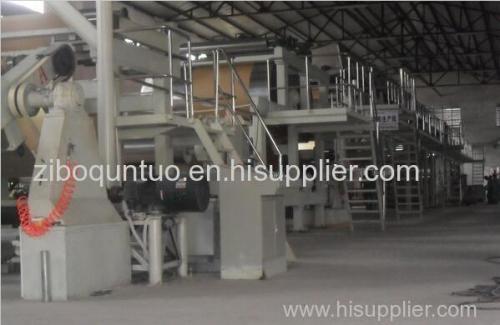 Art paper coating machine