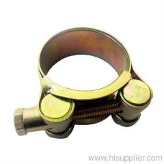Double Bolt hose Clamp
