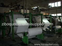 coated glass paper coating machine