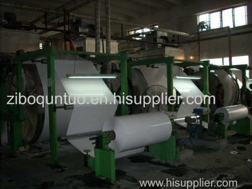 coated glass paper coating machine