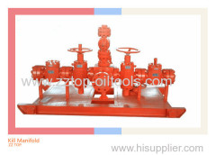 Oilfield 5000psi Kill Manifold for wellhead Service