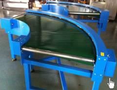 roller curve belt conveyor