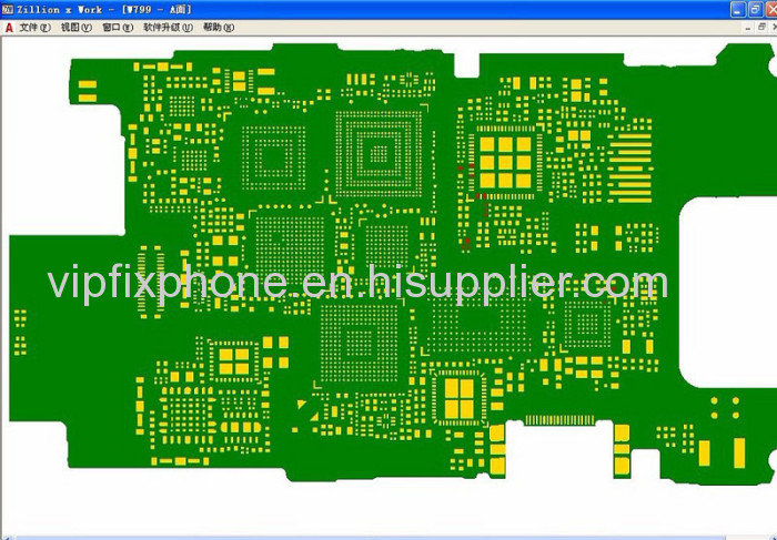 ZXW Dongle iPhone Schematic Diagrams With BlackFish W014