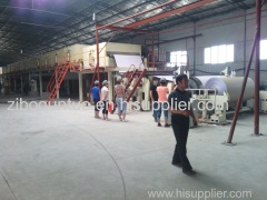 Corrugated board paper Coating machine