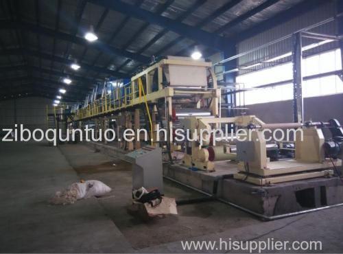 Heat sensitive paper coating machine