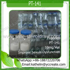 Peptides 10mg/vial Bremelanotide/PT141/PT-141 32780-32-8/189691-06-3 treat female sexual dysfunction
