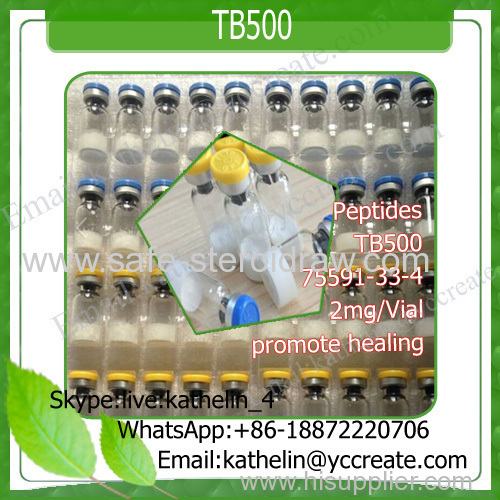 Peptide Powder 2mg/Vial TB500 for Bodybuilding promote healing75591-33-4 TB-500