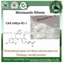 Top Quality Pharmacetical Raw Powder CAS 22832-87-7 Miconazole Nitrate