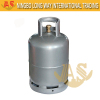 Hot Rolled Steel Welding 23.5L Compressed LPG Gas Bottle for Cooking