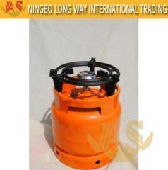 LPG Cilinder Met Camping Burner Staal Huishoudelijk