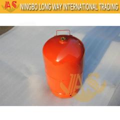 Cilindro de Gas LPG de Acero Inoxidable Propano de 6kg