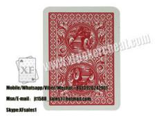 Papel / plástico marcado bicicleta 808 cartões marcados para poker Cheat / Magic Show