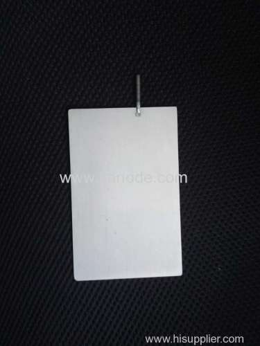 Platinized Electrodes Used for Chrome Plating and Electrochlorination