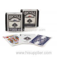 Poker Cheat Bicycle Prestige Marked Cards 100% Plastic Invisible Poker Speelkaarten