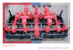 10000psi High Pressure Choke Manifold for wellhead service