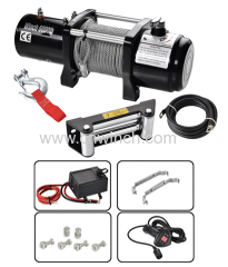 Auto winch with remote control