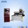 china 1325 wood cnc router/furniture doors/three spindles woodworking cnc router