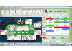 English Version Omaha Texas Holdem Flush Poker Analysis Software Cheat Device