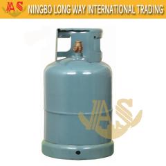 Kenia 12,5kg LPG Gascilinders Met Hoge Kwaliteit