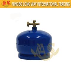2kg Kleine Camping Gas Cilinder China LPG Cilinders