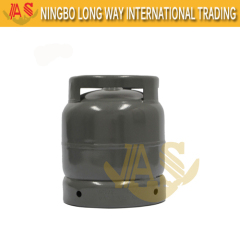 Hot Sale Internation Standard 14.4L Water Capacity 6kg LPG Cylinder 0