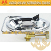 Single Round Plate Portable Camping Gas Burner LPG Cooker
