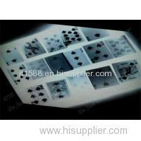 Perspectief Table System Poker Game Monitoring System Met Scanning Camera