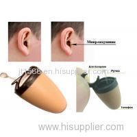 Plastic Wireless Earpiece Output Device For Poker Analyzer System