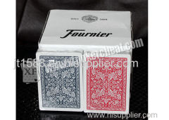 Giocattoli di gioco d'azzardo magico Fournier Plastic 2818 Red Blu Jumbo Face Card