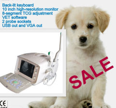 portable handled veterinary ultrasound
