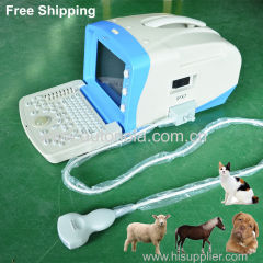 Backlit keyboard portable Ultrasound Scanner animal VET